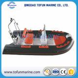 Barco inflable de la costilla de Hypalon/PVC (RIB390)