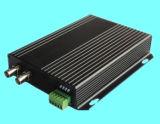 1 canal de vídeo y de datos inversa transceptor de fibra