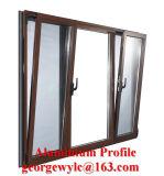 Aluminiumaluminiumaufbau-Profil-Strangpresßling kundenspezifische Kapitel