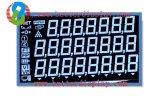 Tn Va Stn Digits LCD personnalisé à 7 segments Affichage à cristaux liquides