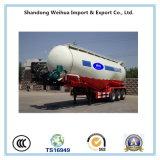 del cemento 55m3 del tanque acoplado a granel semi con 3 árboles del fabricante
