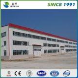 O fornecedor de China galvanizou o armazém claro da oficina da construção de aço do calibre