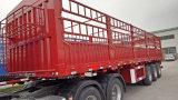 3 de Semi Aanhangwagen van de Zijgevel van assen 40t~80t van Fabrikant