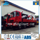 50-90t de hydraulische Opgezette Kraan van de Boom van het Gewricht Vrachtwagen