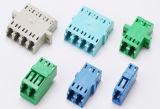 Adaptador de única modalidade simples do LC do adaptador da fibra óptica da boa qualidade da fonte