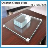 glace de flotteur ultra claire de 15mm (glace de construction)