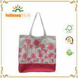 Femmes Eté Cheap Large Stripe Canvas Beach Tote Bag Wholesale