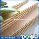 Paleta de madera comercial simple caja de madera contrachapada blanqueada de álamo contrachapado para embalaje