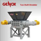 강력한 금속 또는 플라스틱 또는 목제 두 배 양축 슈레더