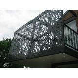 Dekoratives Aluminium durchlöcherter Laser geschnittener im Freienmetallbildschirm