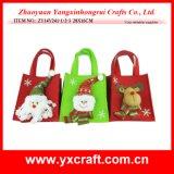 クリスマスの装飾(ZY14Y241-1-2-3)のクリスマスの卸売は子供袋を袋に入れる