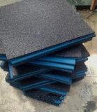 Estera de goma del suelo de la aptitud del equipo de la gimnasia de interior de Crossfit