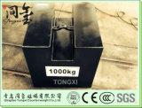 Pesi 1000kg M1 Calss OIML test standard, pesi di calibrazione, Ghisa Peso