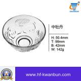 La alta calidad compara la cristalería caliente Kb-Hn0160 del tazón de fuente de cristal de la venta