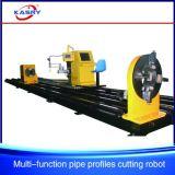 Cortadora de la sección del tubo y del rectángulo para la fabricación de acero