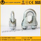 Clip électrique de câble métallique de Galv DIN 741