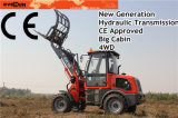 Snow Bucket를 가진 Rops&Fops Er15 Agriculture Loader