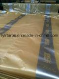 Лист брезента PE, сплетенная крышка брезента ткани
