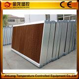 Almofada refrigerar evaporativo de Jinlong para a fazenda do equipamento/criação das aves domésticas