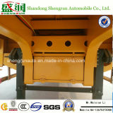 Dei 3 assi della base bassa del carico rimorchio pratico a base piatta del camion semi