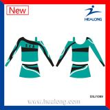 Produits de Cheerleading de sublimation de teinture d'UV-Protection de Healong pleins