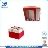 China-niedriger Preis-Packpapier-Kasten mit Fenster