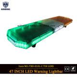 Barra ligera del mismo tamaño del LED/lámpara Emergency de la barra ligera de la policía ambarina del color verde/del semáforo del camino