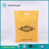 Il commercio all'ingrosso poco costoso pp di prezzi non tessuto D-Ha tagliato il sacchetto di Supermaket del sacchetto