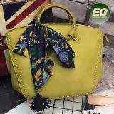 الصين صاحب مصنع مباشر مصنع نساء حقيبة يد حقيبة حقيبة مع وشاح حراريّة [ش168]