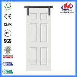 Нутряная отлитая в форму деревянная сползая дверь амбара (JHK-006)