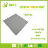 Luz de painel lisa do diodo emissor de luz/luz de teto 48W, 80lm/W 50000hours com Ce, TUV
