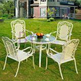 Im Freien Balkon Fünf-Stück Kaffeetisch-und Stuhl-Rattan-Möbel