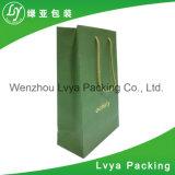 Niedrigerer Preis bereitete Zoll gedruckten Geschenk-Papierbeutel, PapierEinkaufstasche auf