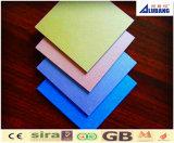 Внешние деревянные панели стены, алюминиевый композиционный материал (acm), лист ACP