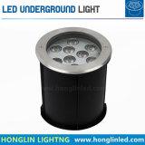 강화된 판 IP67 18X2w LED 지하 램프 3W LED 지하 빛