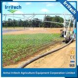 Sistema linear de la máquina de la irrigación del movimiento de Enigine del estilo del valle del manguito de la rueda diesel de la alimentación dos en venta