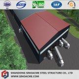 Almacén prefabricado de acero para el centro de distribución de la logística