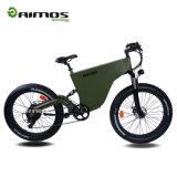 Bicicleta eléctrica rápida del nuevo del engranaje de AMS-Tde-06 1000W neumático gordo del motor con 9 velocidades