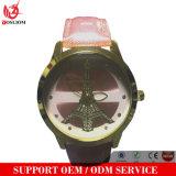 Yxl-234 매력적인 숙녀 시계 진짜 가죽 소맷동 스테인리스 상자 일본 Movt 석영은 남자 여자 2016년을%s Cluse 시계를 주시한다