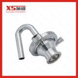 Válvula sanitária da liberação do ar do aço inoxidável
