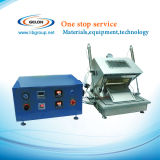 Kompakte Vakuumabdichtmassen-Maschine für das Vorbereiten der Beutel-Zelle