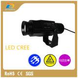 Lumières extérieures imperméables à l'eau de projecteur du Gobo 20W de logo de DEL à vendre
