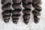 trame brasiliane dei capelli del Virgin 8A dell'onda allentata superiore dei capelli