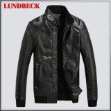 人の方法布のための最もよい販売法の冬PUのジャケット