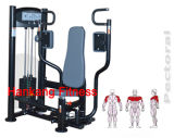 Matériel de forme physique, machine de construction de corps, Machine-PT-808 pectoral