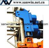 Poseer la unidad de mecanismo impulsor de la patente usada en el alzamiento del edificio