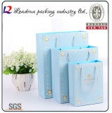 Papel Kraft Bolsa de la compra de regalos de papel de impresión del embalaje del portador bolsa (A104)