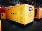 Ce/Soncap/CIQ 승인을%s 가진 Weifang 엔진 K4100d를 가진 35kVA 침묵하는 디젤 엔진 발전기