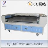 Machine de découpage de alimentation automatique de laser de tissu de système