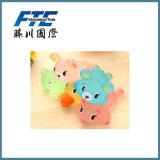 Almofada de rato impressa gel do PVC do silicone da promoção